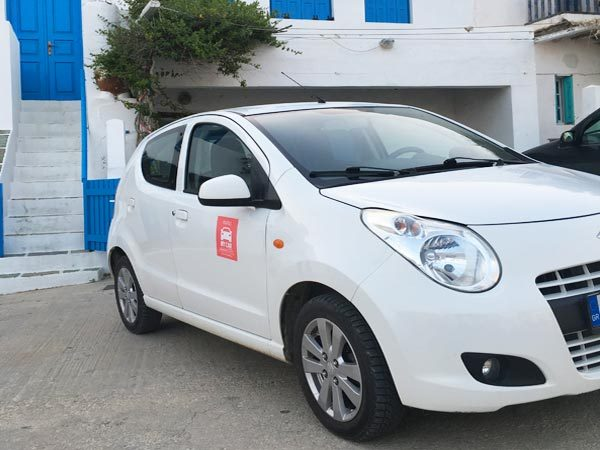 rent automatic car folegandros