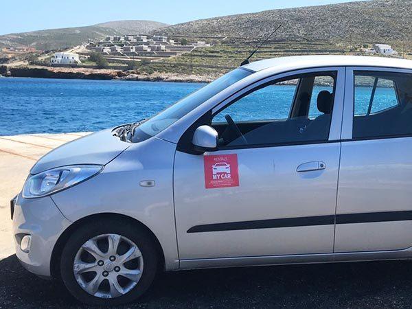 rent a car folegandros